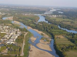 Berge de la Loire au niveau de Sainte Gemmes sur loire (un des trois segments)