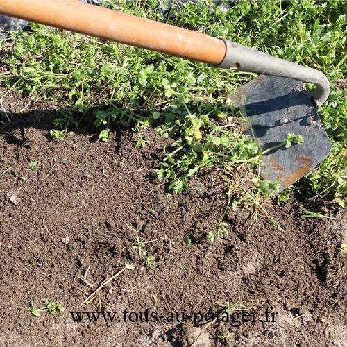 Les outils pour sarcler votre potager