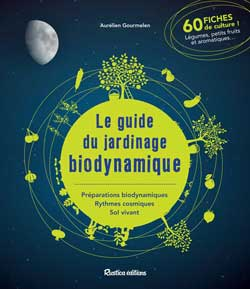 Couverture du livre le guide du jardinage biodynamique