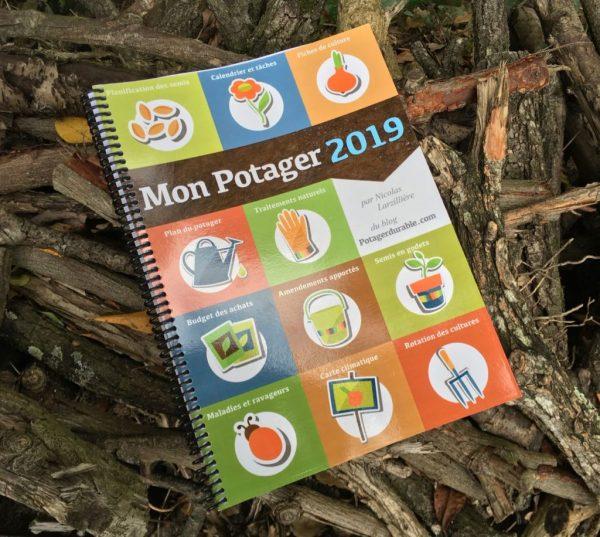 Cahier de jardin 2019, pour une organisation optimale